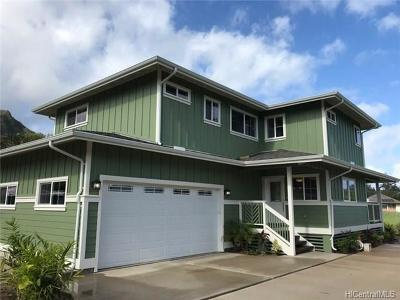 Hauula Single Family Home For Sale: 53-490a Kamehameha Highway
