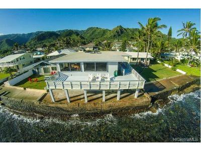 Hauula Single Family Home In Escrow Showing: 54-261 Kaipapau Loop