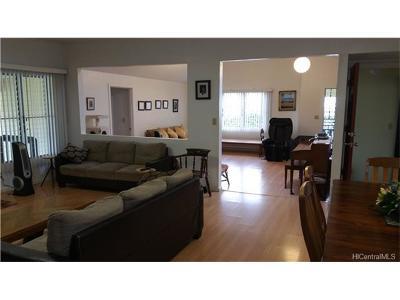 Wahiawa Single Family Home For Sale: 57 Uluwehi Street