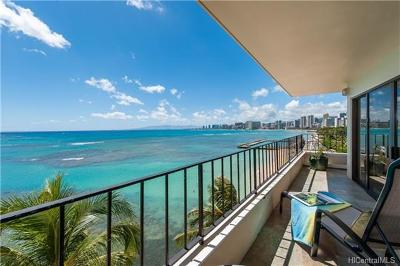 Honolulu Condo/Townhouse For Sale: 2893 Kalakaua Avenue #8