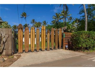 Haleiwa Single Family Home For Sale: 59319 Ke Nui Road