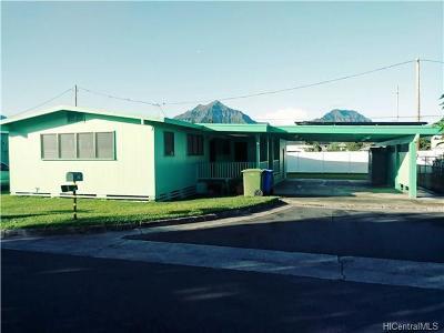 Central Oahu, Diamond Head, Ewa Plain, Hawaii Kai, Honolulu County, Kailua, Kaneohe, Leeward Coast, Makakilo, Metro Oahu, N. Kona, North Shore, Pearl City, Waipahu Single Family Home For Sale: 245 Keaniani Place