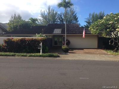 Single Family Home For Sale: 7750 Kalohelani Place