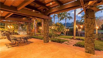 Kailua HI Single Family Home For Sale: $1,895,000