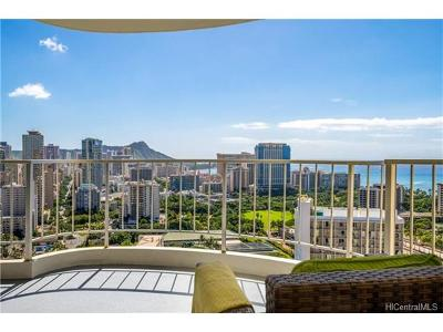 Honolulu Condo/Townhouse In Escrow Showing: 469 Ena Road #3207