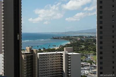 Honolulu Condo/Townhouse For Sale: 411 Hobron Lane #2608