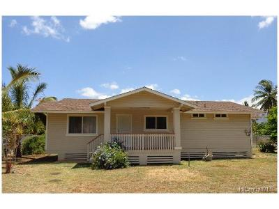 Waianae Single Family Home For Sale: 87-238 Saint Johns Road