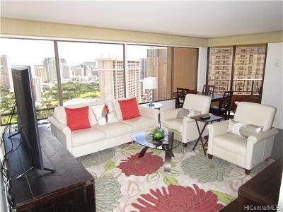 Honolulu Condo/Townhouse For Sale: 1778 Ala Moana Boulevard #3314