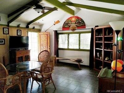 Haleiwa Single Family Home For Sale: 66-395 Waialua Beach Road