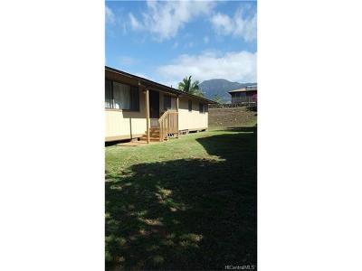 Waianae Single Family Home For Sale: 85-1246 Kaneilio Street