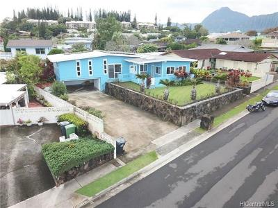 Kaneohe Single Family Home For Sale: 46-240 Kapea Street