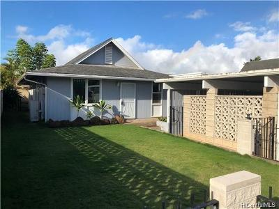 Mililani Single Family Home For Sale: 95-266 Hakupokano Loop
