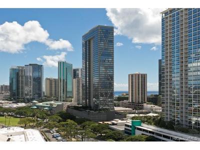 Honolulu Condo/Townhouse For Sale: 1009 Kapiolani Boulevard #1612
