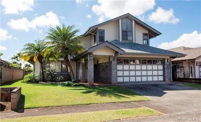Mililani Single Family Home For Sale: 95-1029 Liho Street
