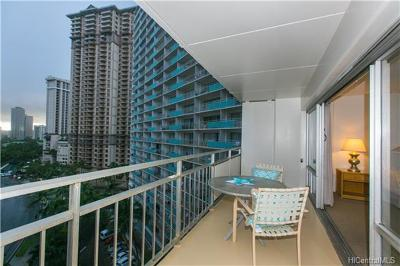 Honolulu Condo/Townhouse For Sale: 1777 Ala Moana Boulevard #1005