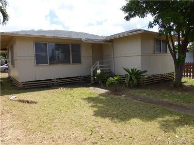 Waianae Multi Family Home In Escrow Showing: 84-916 Hanalei Street