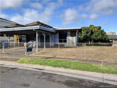 Waipahu Single Family Home In Escrow Showing: 94-1126 Kahuahale Street