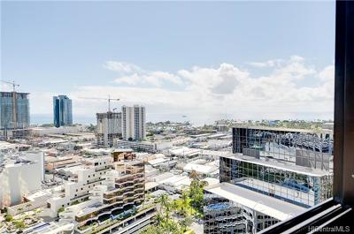 Hawaii County, Honolulu County Condo/Townhouse For Sale: 876 Curtis Street #2801
