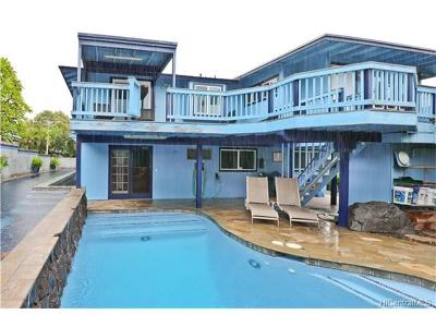 Waianae Single Family Home In Escrow Showing: 86-416 Popohau Place