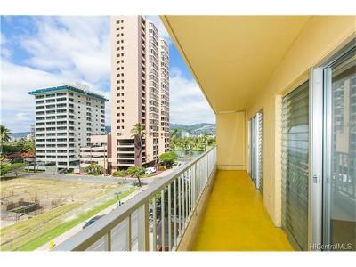 Honolulu Condo/Townhouse For Sale: 303 Liliuokalani Avenue #503