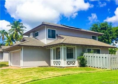 Kapolei Single Family Home For Sale: 91-219 Oaheahe Way