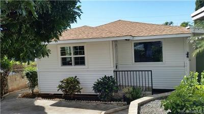 Single Family Home For Sale: 3365 Likini Street