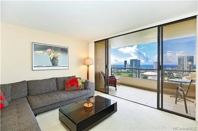Honolulu Condo/Townhouse For Sale: 1221 Victoria Street #2802