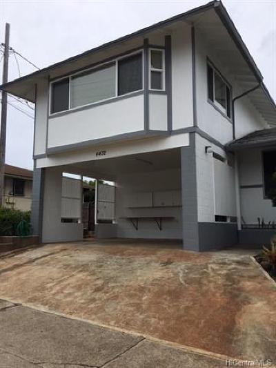 Hawaii County, Honolulu County Rental For Rent: 4432 Puu Panini Avenue
