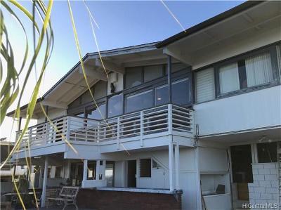 Honolulu Single Family Home For Sale: 1998 Ala Mahamoe Place
