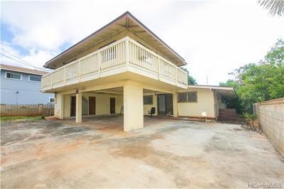 Honolulu Single Family Home For Sale: 4345 Olaloa Street