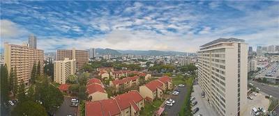 Honolulu Condo/Townhouse For Sale: 1624 Kanunu Street #PHB