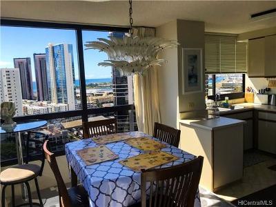 Honolulu Condo/Townhouse For Sale: 876 Curtis Street #2604