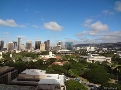 Honolulu County Condo/Townhouse For Sale: 801 South Street #2025