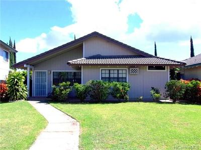 Kapolei Single Family Home In Escrow Showing: 91-189 Kikiao Street