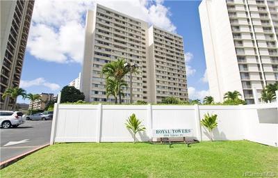 Honolulu Condo/Townhouse For Sale: 5180 Likini Street #704