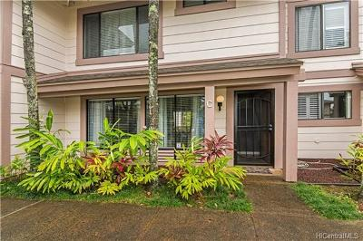 Aiea Condo/Townhouse In Escrow Showing: 98-1805 Kaahumanu Street #C