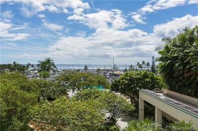 Hawaii County, Honolulu County Condo/Townhouse For Sale: 1777 Ala Moana Boulevard #310