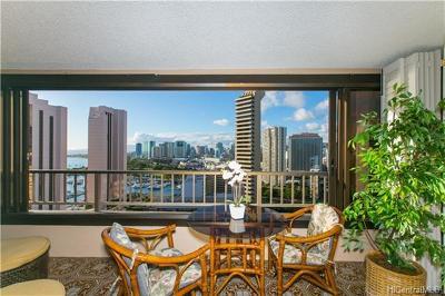 Honolulu HI Condo/Townhouse For Sale: $395,500