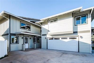 Waipahu HI Single Family Home For Sale: $949,000