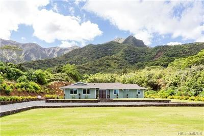 Kaneohe Single Family Home In Escrow Showing: 47-611 Mapele Road #-611-A
