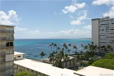 Honolulu Condo/Townhouse For Sale: 2947 Kalakaua Avenue #1105
