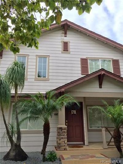 Ewa Beach Single Family Home For Sale: 91-1146 Kaiopua Street