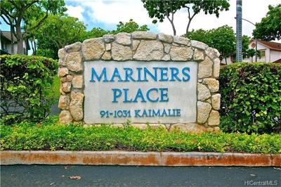 Ewa Beach Condo/Townhouse For Sale: 91-1031 Kaimalie Street #4N3