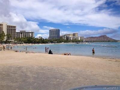 Central Oahu, Diamond Head, Ewa Plain, Hawaii Kai, Honolulu County, Kailua, Kaneohe, Leeward Coast, Makakilo, Metro Oahu, North Shore, Pearl City, Waipahu Rental For Rent: 411 Hobron Lane #1801