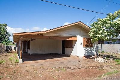Ewa Beach Single Family Home For Sale: 91-320 Pupu Place