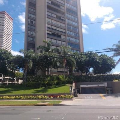 Honolulu Condo/Townhouse For Sale: 581 Kamoku Street #1708