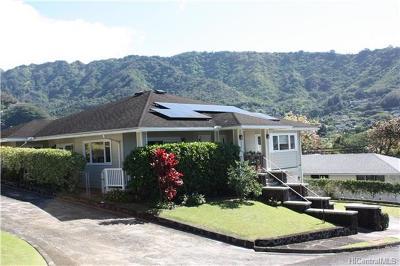 Honolulu Single Family Home For Sale: 3310 Halelani Drive
