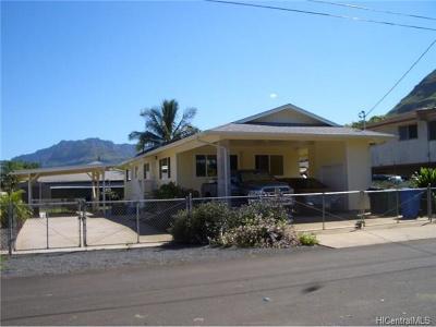 Waianae Single Family Home For Sale: 87-870 Ehu Street