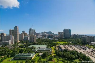 Honolulu Condo/Townhouse For Sale: 1910 Ala Moana Boulevard #22C