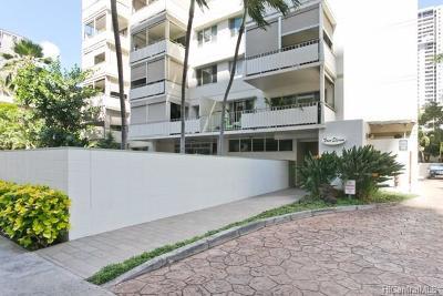 Hawaii County, Honolulu County Condo/Townhouse For Sale: 411 Kaiolu Street #303